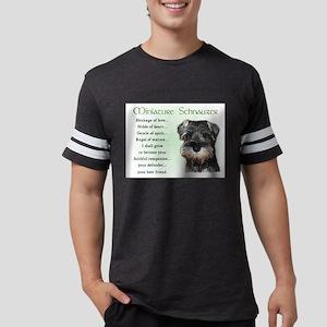 Miniature Schnauzer Puppy Ash Grey T-Shirt