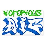 Notorious AIG Rectangle Sticker 10 pk)
