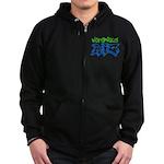Notorious AIG Zip Hoodie (dark)