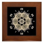 Queen Annes Lace Ia Framed Tile