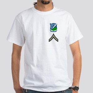 Private First Class White T-Shirt