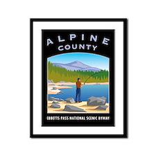 Alpine Country Framed Panel Print