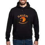 Salem Massachusetts Witch Hoodie (dark)