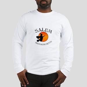 Salem Massachusetts Witch Long Sleeve T-Shirt