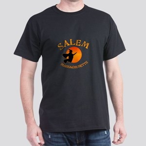 Salem Massachusetts Witch Dark T-Shirt