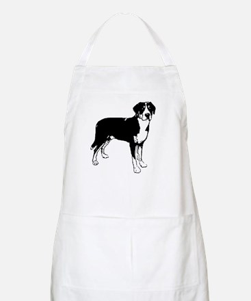 Greater Swiss Mountain Dog BBQ Apron