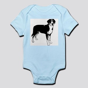 Greater Swiss Mountain Dog Infant Creeper