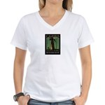Big Trees Women's V-Neck T-Shirt