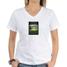 Grover Hot Springs Women's V-Neck T-Shirt