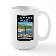 Alpine County Large Mug