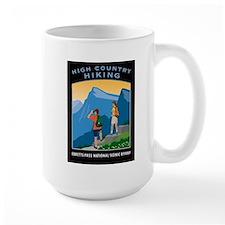 Hiking Large Mug