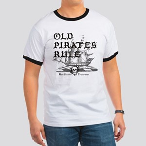 Old Pirates Rule Ringer T
