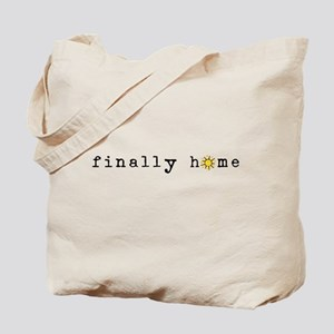 Finally Home Sunshine Tote Bag