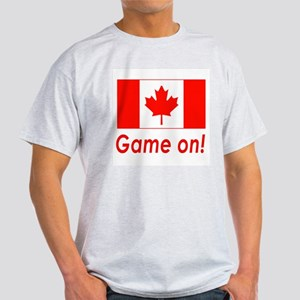 Canada Pride Game On! Ash Grey T-Shirt