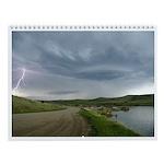 Lightning Wall Calendar