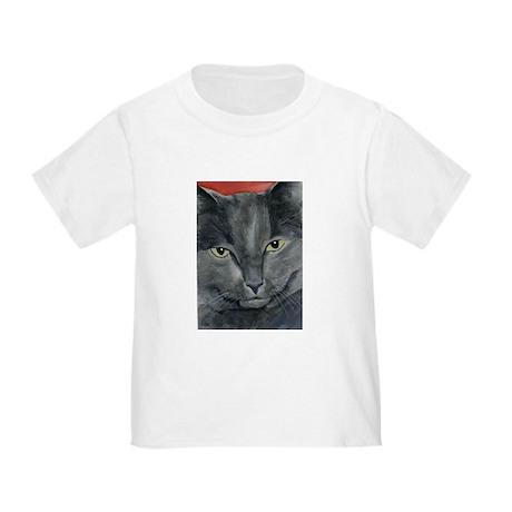 Russian Blue Cat Toddler T-Shirt