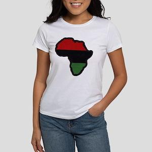Afrika - White Women's T-Shirt