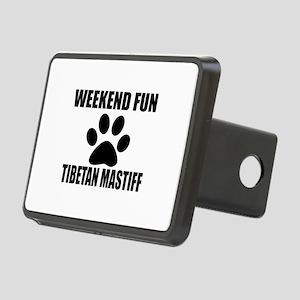 Weekend Fun Tibetan Mastif Rectangular Hitch Cover