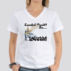 Lawful Great V-neck Tee