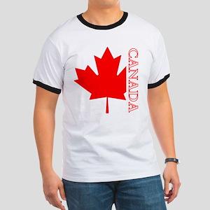 Candian Maple Leaf Ringer T