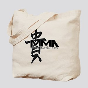 MMA Kanji Honor - Black Logo Tote Bag