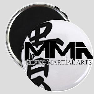 MMA Kanji Honor - Black Logo Magnet