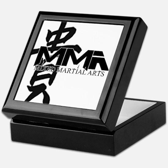 MMA Kanji Honor - Black Logo Keepsake Box