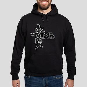 MMA Kanji Honor - Black Logo Hoodie (dark)