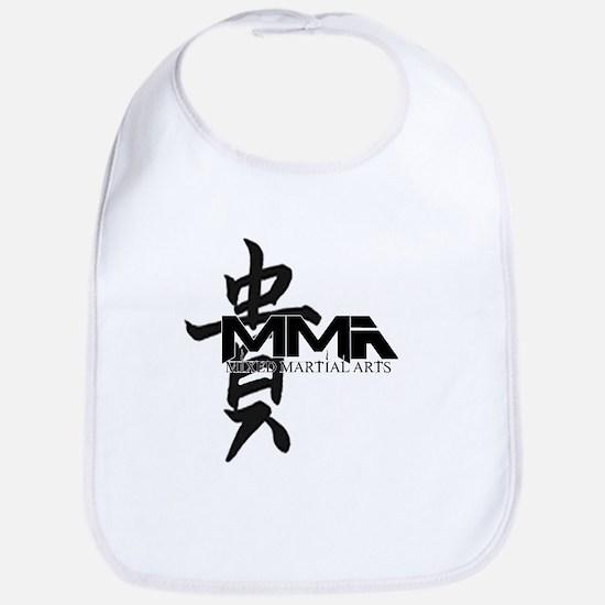 MMA Kanji Honor - Black Logo Bib