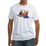 Sangria Fitted T-Shirt