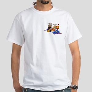 Sangria White T-Shirt
