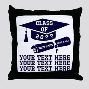 Class of 20?? Throw Pillow