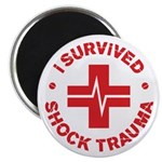 "Shock Trauma 2.25"" Magnet (100 pack)"