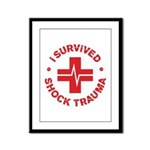 Shock Trauma Framed Panel Print