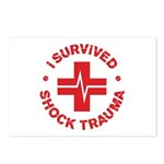 Shock Trauma Postcards (Package of 8)