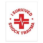Shock Trauma Small Poster