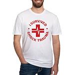 Shock Trauma Fitted T-Shirt