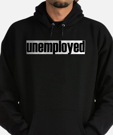 Unemployed Hoodie (dark)