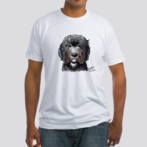 WB Black Doodle Fitted T-Shirt