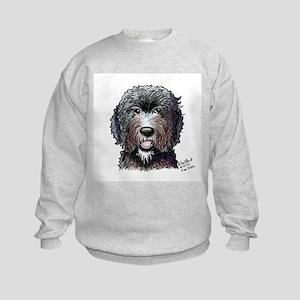 WB Black Doodle Kids Sweatshirt