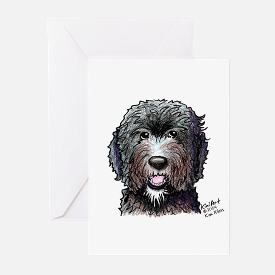WB Black Doodle Greeting Cards (Pk of 10)