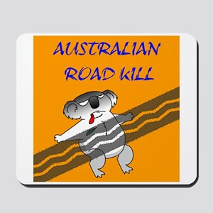 australian road kill (koala) Mousepad