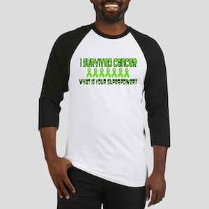 Lime Superpower Baseball Jersey
