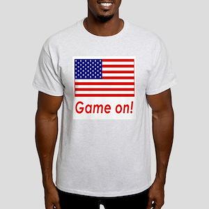 USA Pride! Game On! Ash Grey T-Shirt