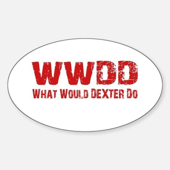 Dexter Showtime What Would Dexter Do Decal