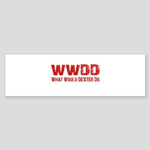 Dexter Showtime What Would Dexter Do Sticker (Bump