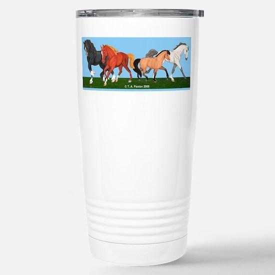 Pony Fun Stainless Steel Travel Mug