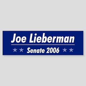 Lieberman 06 Bumper Sticker