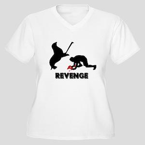 Revenge of the seals Women's Plus Size V-Neck T-Sh