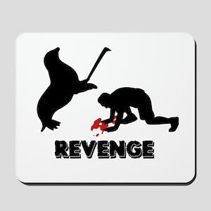 Revenge of the seals Mousepad